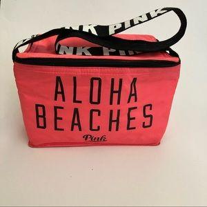 PINK Victoria's Secret Neon Cooler Lunch Bag Tote